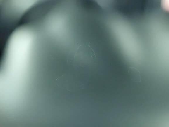 ホンダ N-BOX 飛び石 フロントガラス ひび割れ 修理後