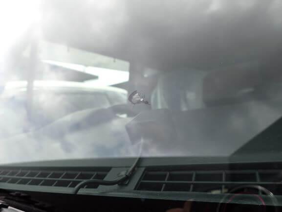 フレアクロスオーバー フロントガラス 飛び石ヒビ割れの修理・リペア